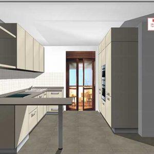 Appartamenti duplex 4.5 locali: le cucine