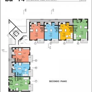 Progetto studio di architettura Paolo Zürcher per stabile in via Luvee a Stabio